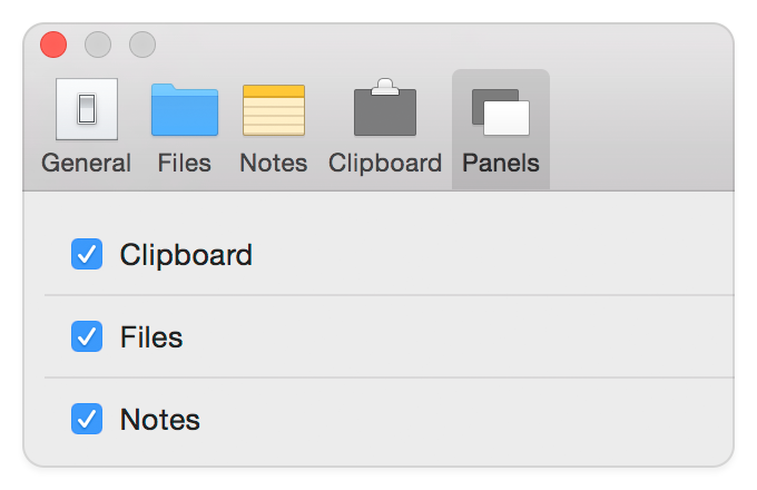 Unclutter - Enable and disable panels as you like.
