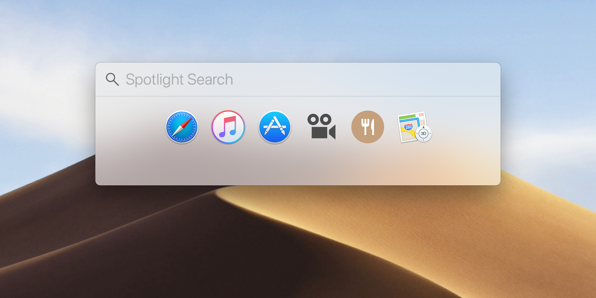 MacOS Spotlight to quickly find anything on your Mac.