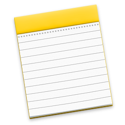 Apple Notes - Default macOS notes app.