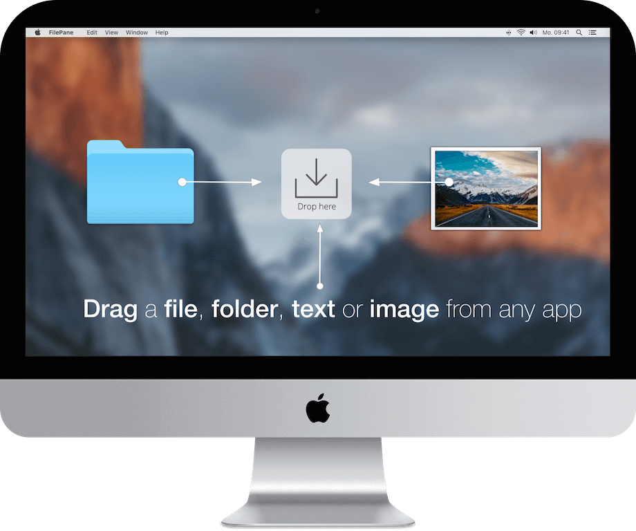 Filepane - Expand the power of drag-and-drop