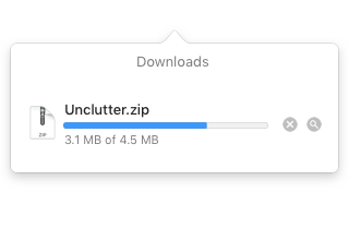 1. Wait until the download is complete. Unzip the archive.